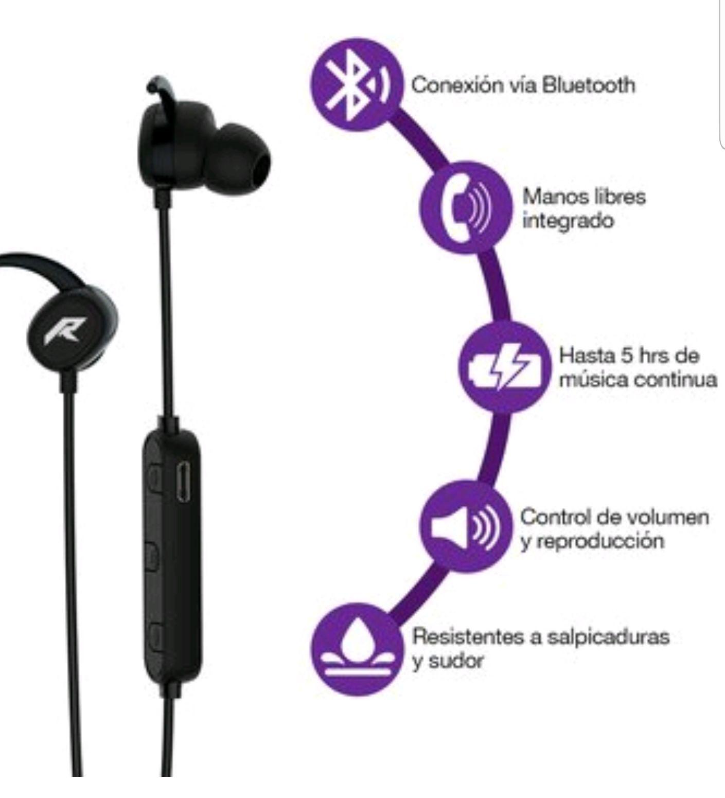 Linio: Audífonos Bluetooth Redmemon