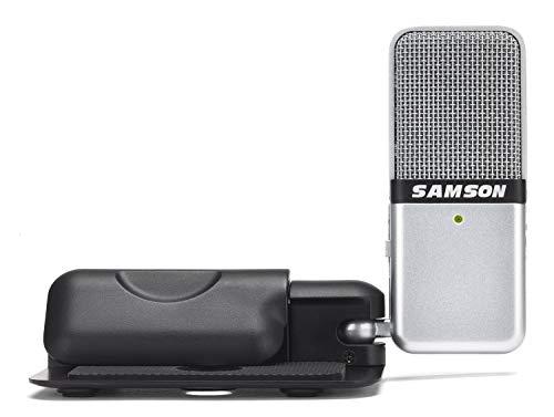 Amazon: Samson MICROFONO portátil USB CON CLIP PARA LAPTOP
