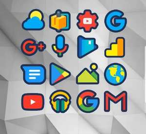 Google Play: Iconos Android gratis (diferentes packs)
