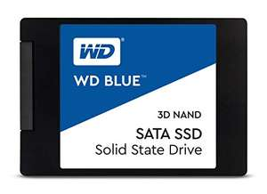 Amazon: Western Digital Blue SSD 500GB 3D NAND