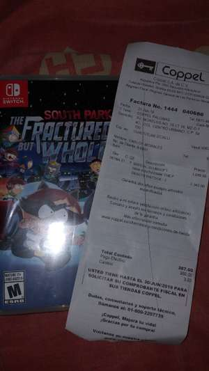 Coppel: South Park The Fractured.... para Nintendo Switch