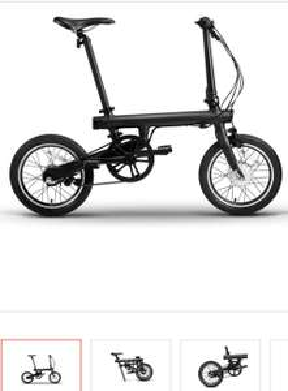 ClaroShop: Bicicleta Electrica Xiaomi Mi QiCYCLE Electric Plegable