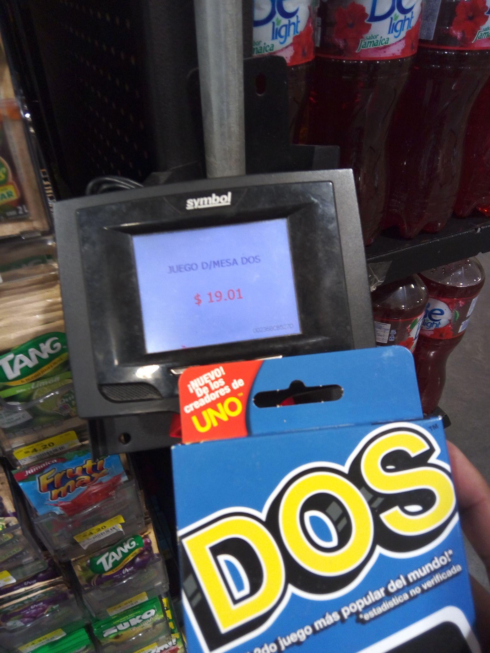 Walmart Pabellon Cuemanco: Juego DOS y mas
