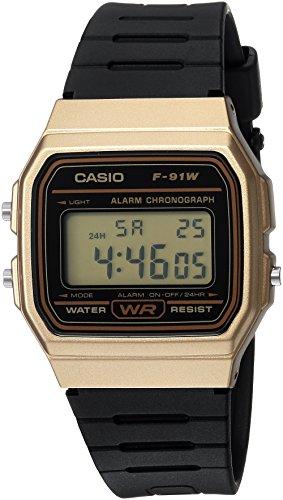 Amazon: Casio reloj para hombre clasico Negro/Dorado