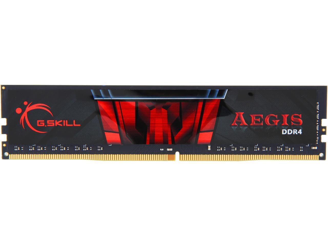 Newegg: Memoria RAM - G.SKILL Aegis 8GB DDR4 SDRAM DDR4 2666 MHz
