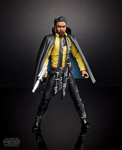 amazon STAR WARS Figura Lando Clarissian The Black Series, 6 Pulgadas