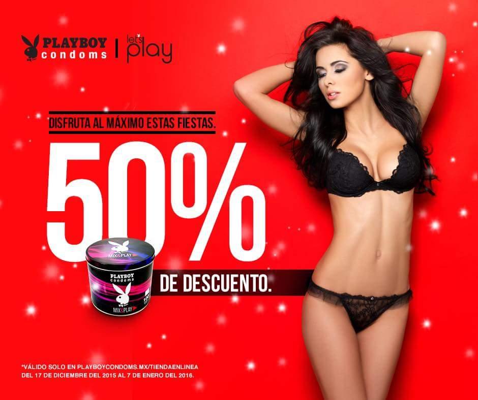 Playboy Condoms online: 50% de descuento en toda la tienda