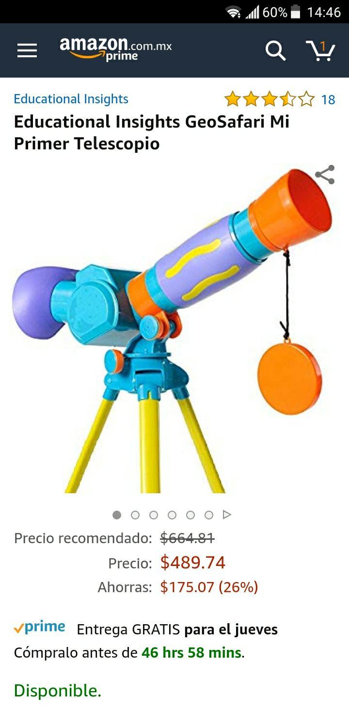 Amazon Telescopio Infantil Educational Insights
