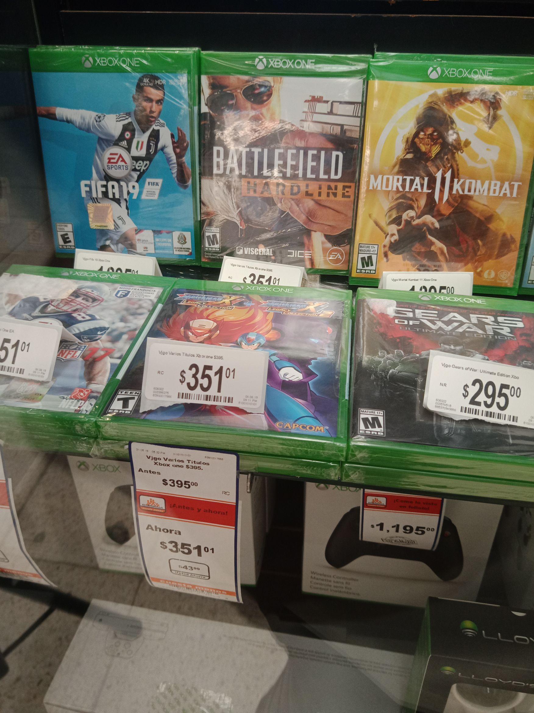 Chedraui: Mega Man X Legacy Colletion 1 + 2 xbox one