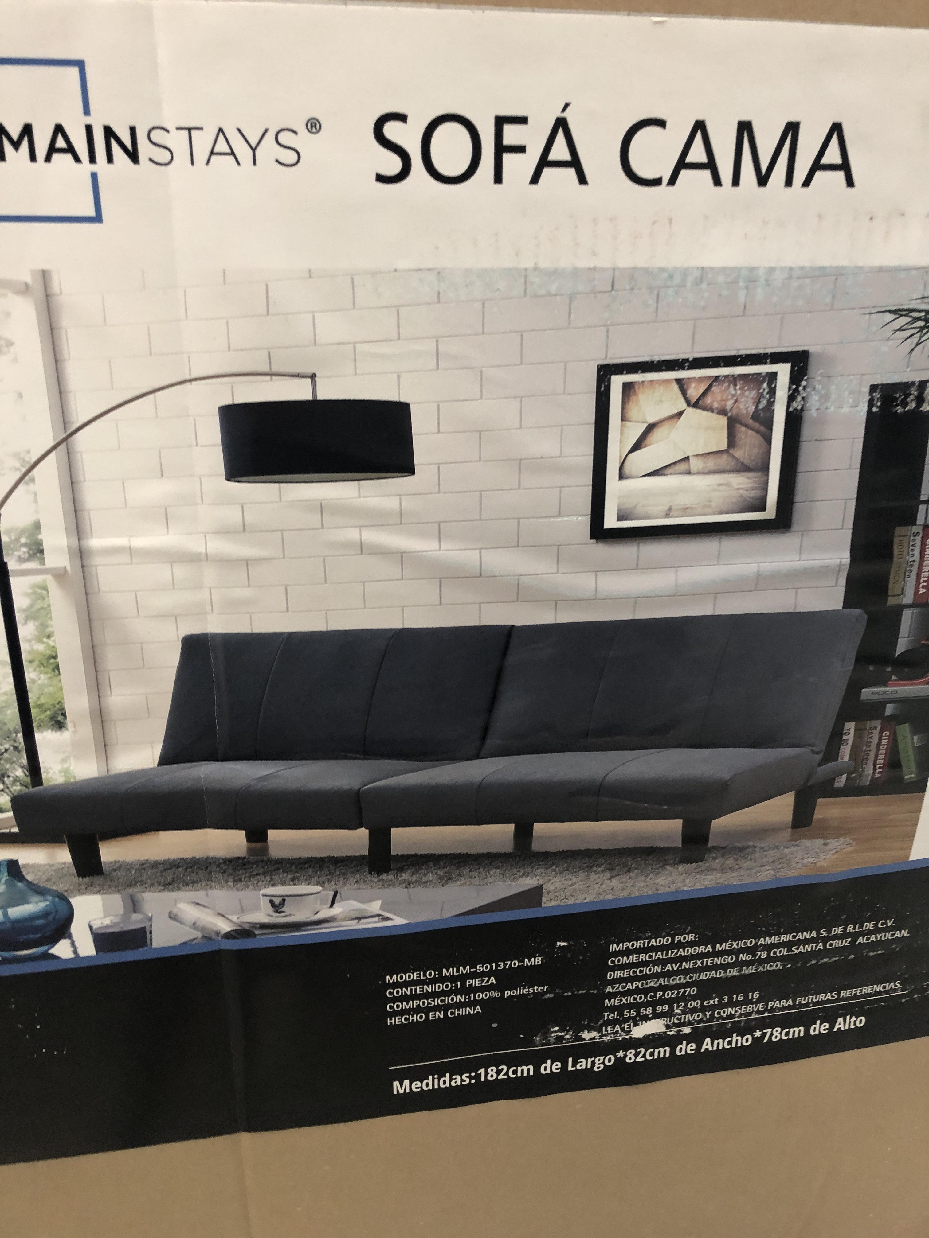Bodega Aurrerá: Sofá cama mainstays