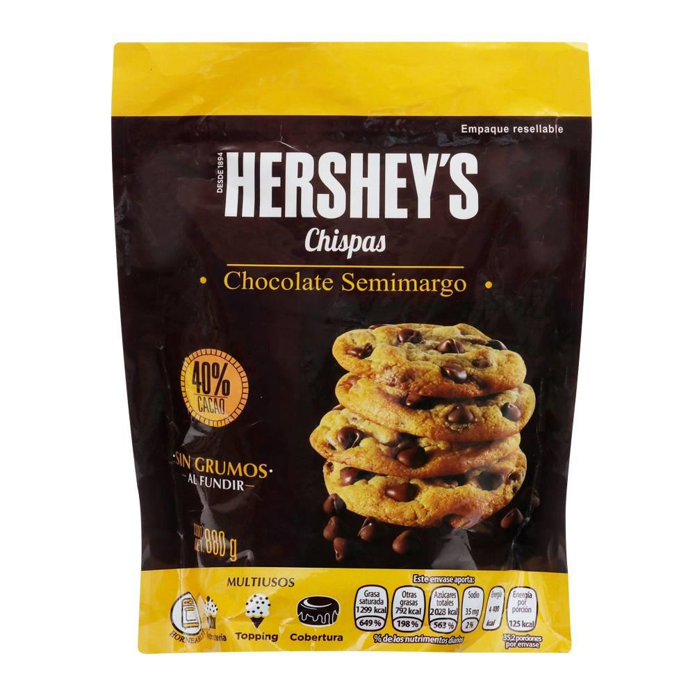 Sam's club: Chispas de Chocolate Hershey's Semiamargo 880 g