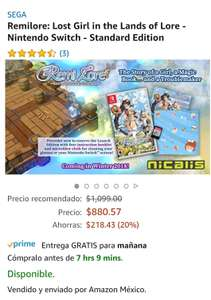 Amazon: Remilore Lost Girl in the Lands of Lore para Nintendo Switch