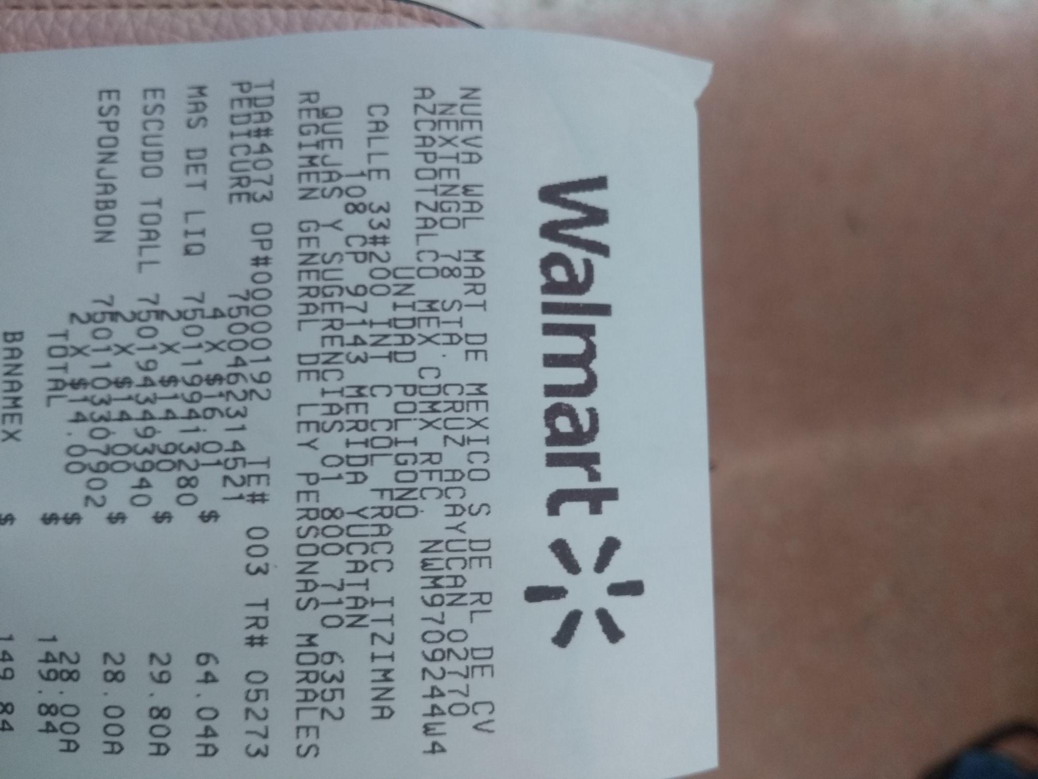 Walmart: Barra para pies antifricción