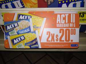 7 Eleven: Palomitas ACT III a 2x$20