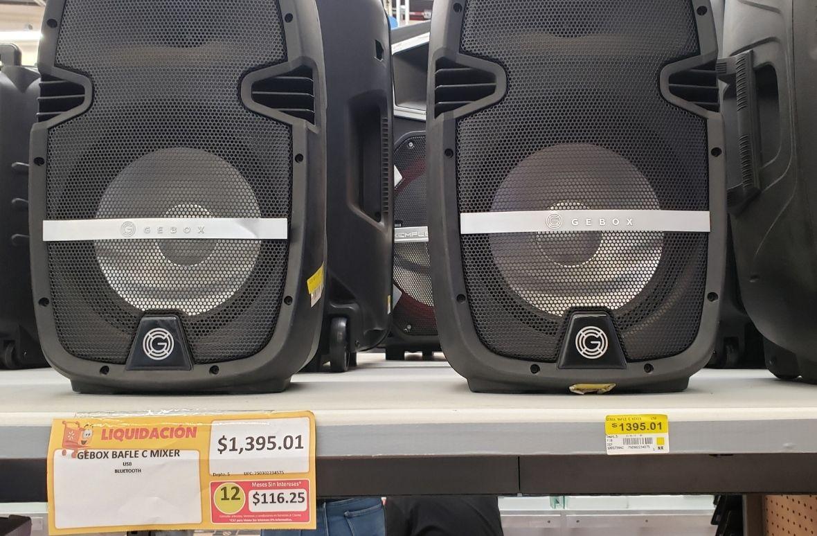 Walmart: Bafle Gebox