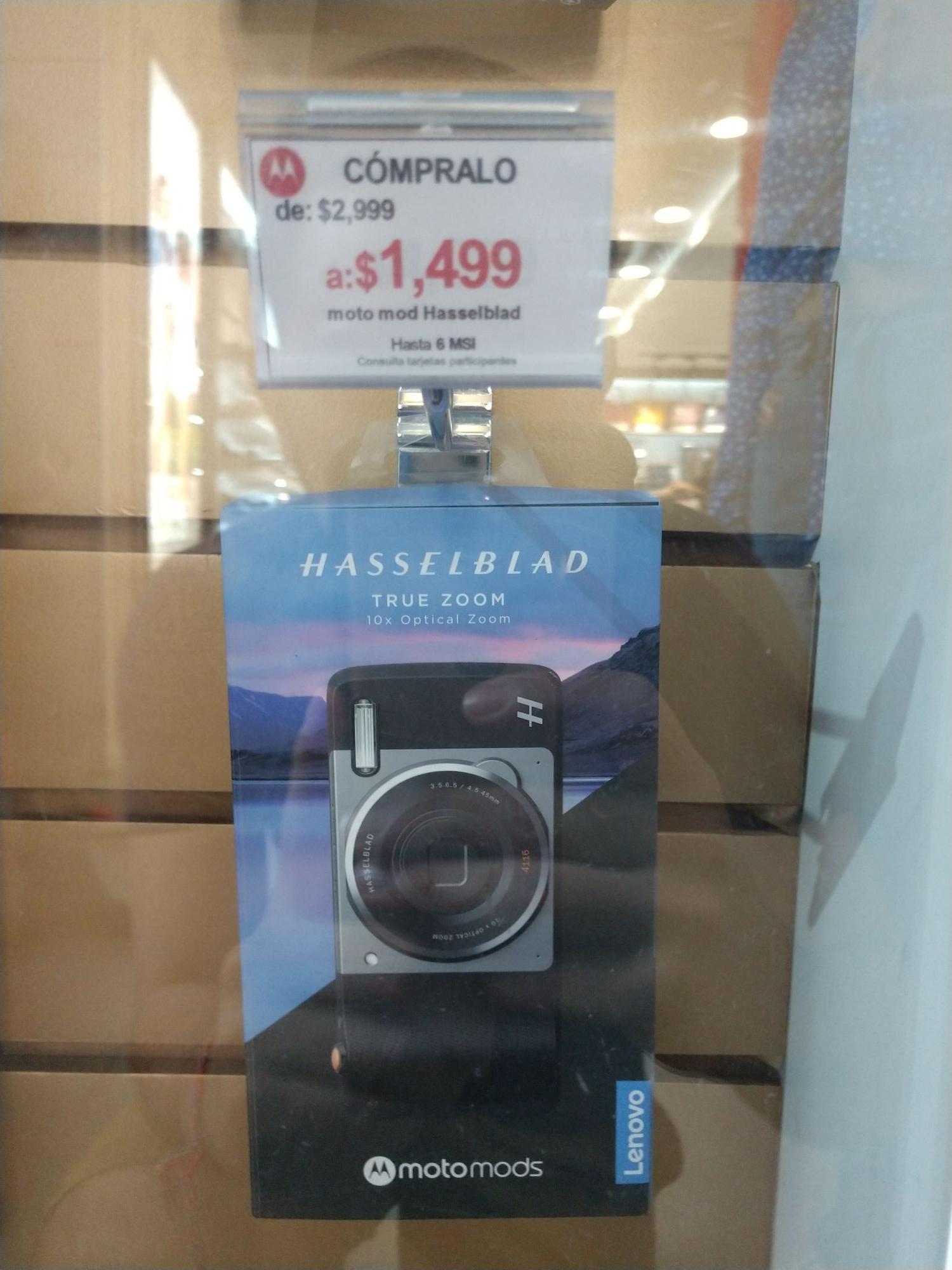 Kiosko de Motorola: Moto mod Hasselblad en $1499