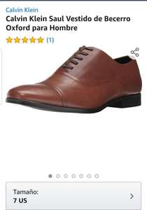 Amazon: Zapato Calvin Klein, talla 7US (5mx)