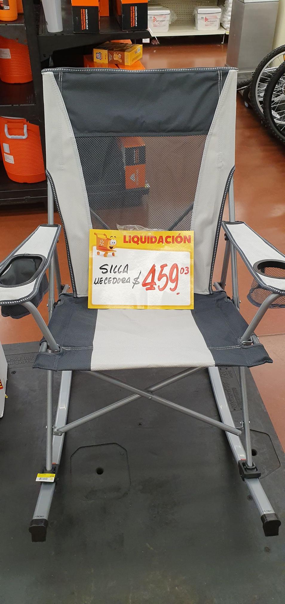 Walmart: Silla mecedora Ozark