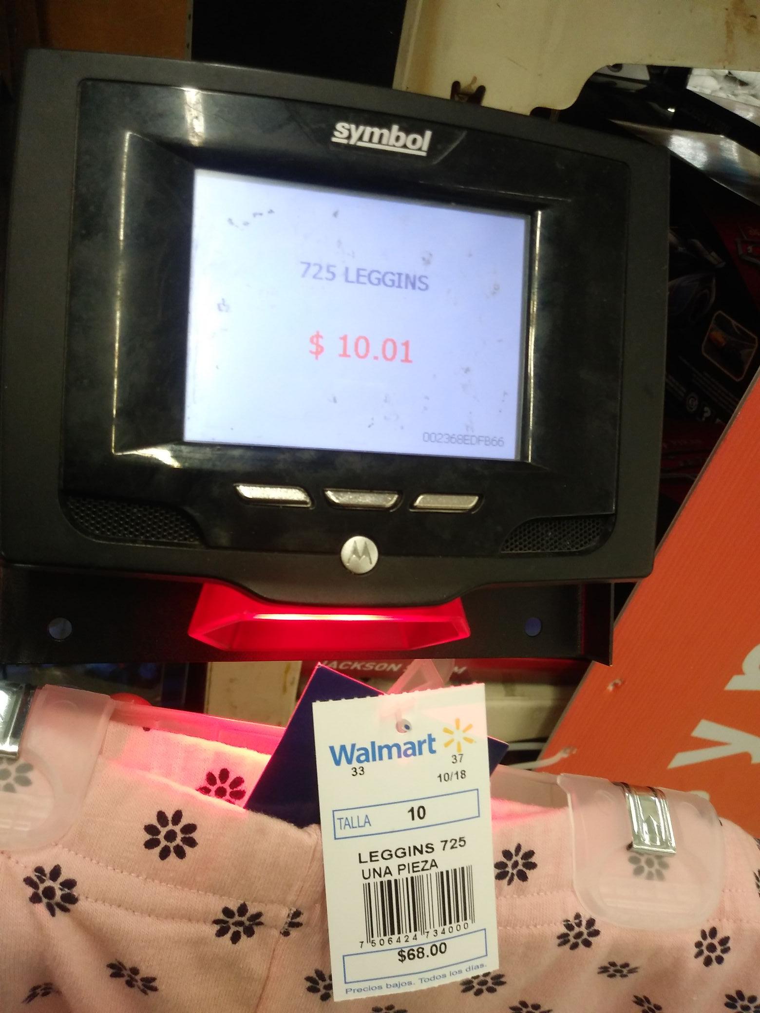 Walmart: Leggins para niña