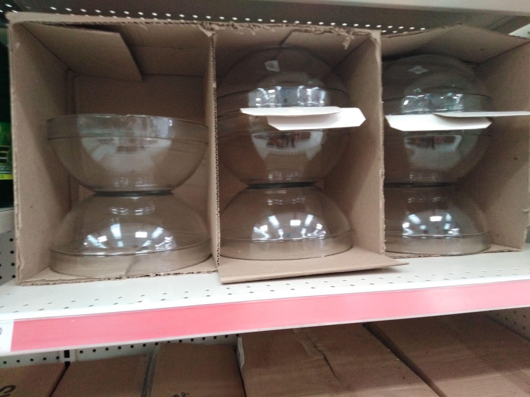 Tienda Bara Guanajuato Capital: Tazón de vidrio de 4L y más...