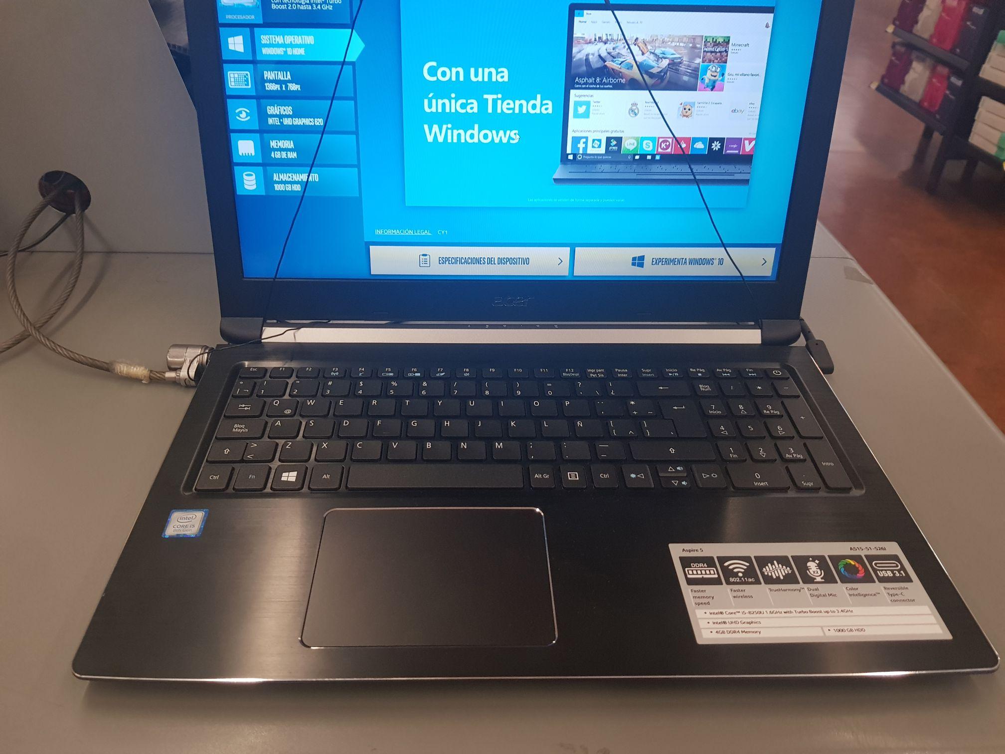 Walmart: Laptop Acer Core i5