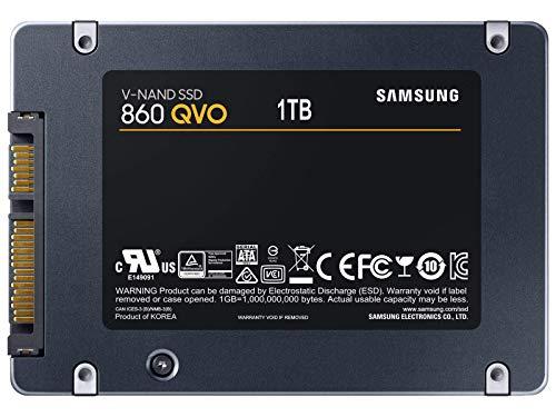 Amazon MX: Samsung 860 QVO 1TB 2.5 Pulgadas SATA III SSD MZ-76Q1T0B/AM (Vendido y enviado por Amazon USA)