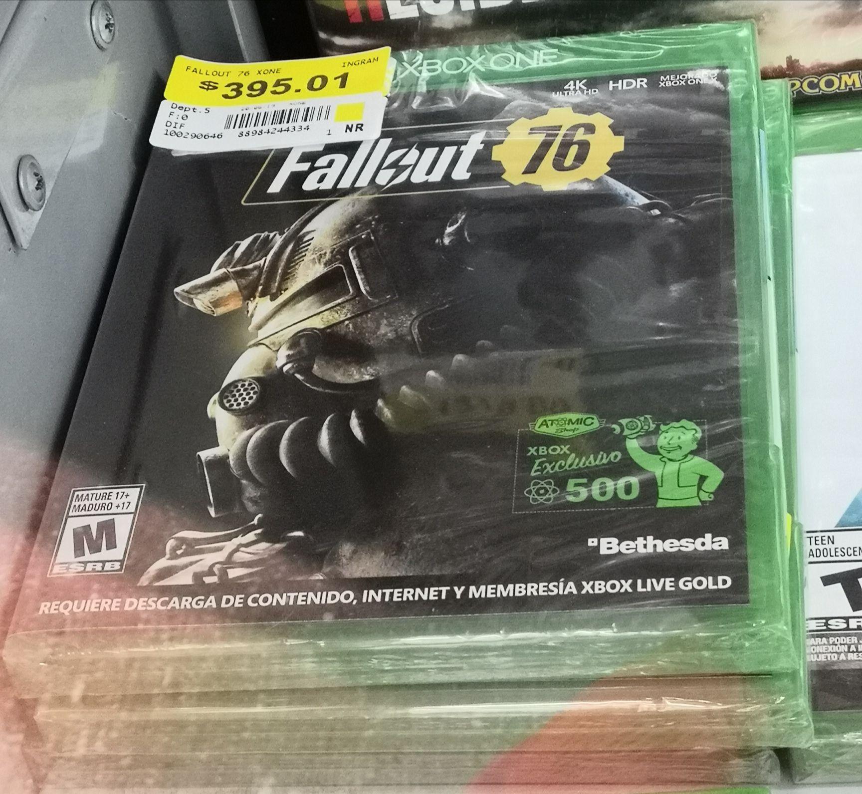 Walmart: Fallout 76 Xbox One