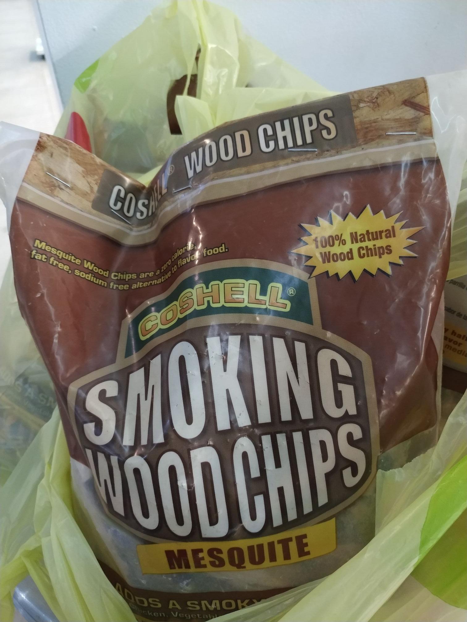 Soriana Súper: Smoking wood chips