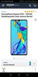 Amazon: Huawei P30 128 gb + Huawei Y9 2019 (pagando con TdC Banorte Digital)