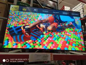 "Sam's Club: Smart TV Sony 75"" 4K UHD Modelo X78F"
