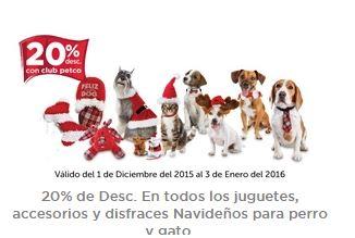 Petco: 50% de descuento en Juguetes, Accesorios y Ropa Navideños para Gatos y Perros!