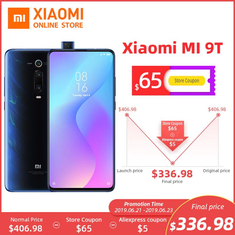 Aliexpress: Xiaomi Mi 9T 6/128 (envío por DHL)