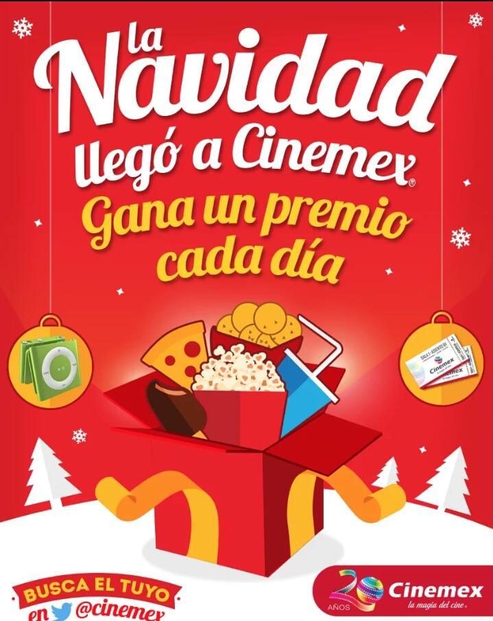CINEMEX regalo del dia ULTIMO!!!: palomitas