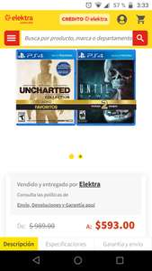 elektra Uncharted collection + until down