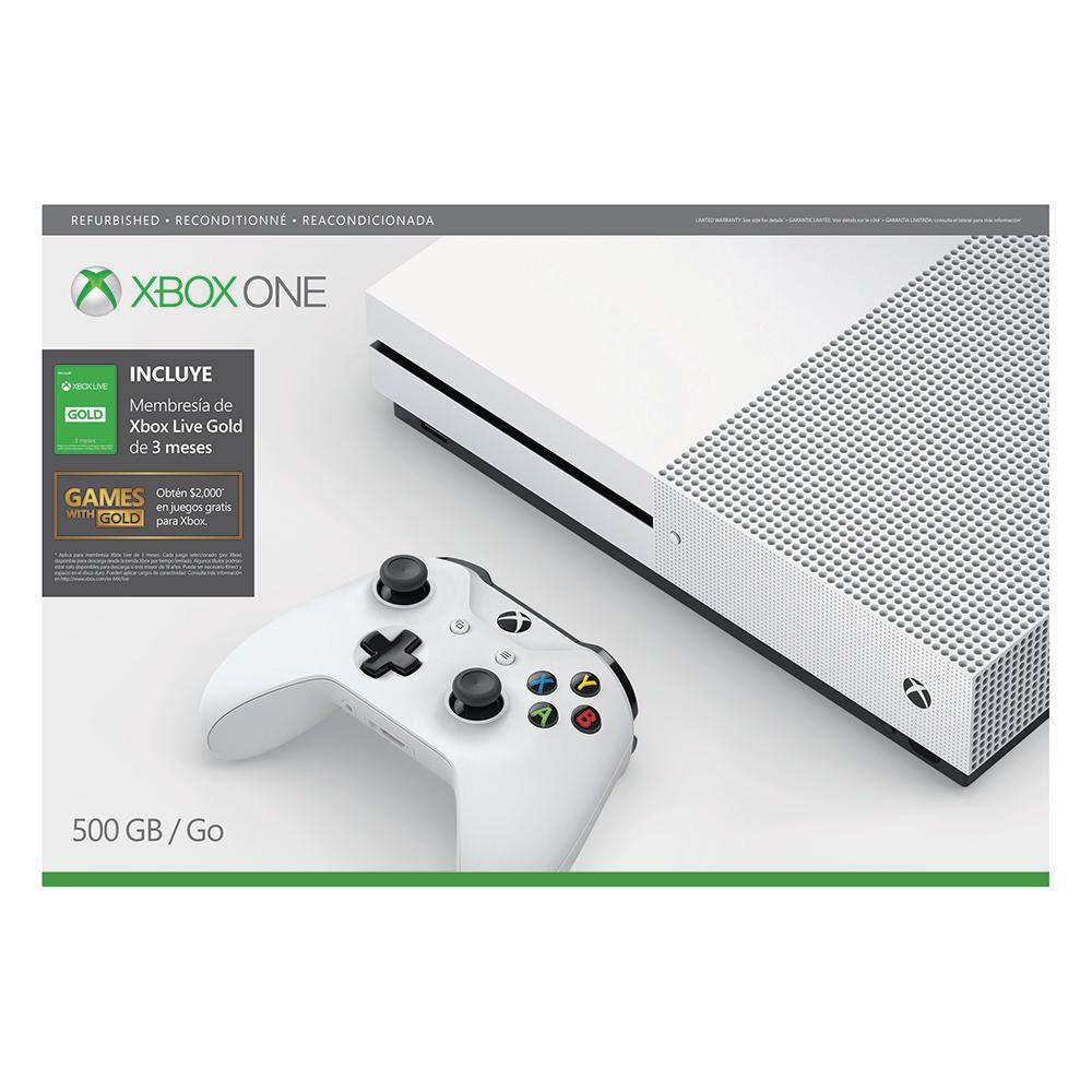Elektra: Xbox One S Reacondicionada (pagando con Paypal)