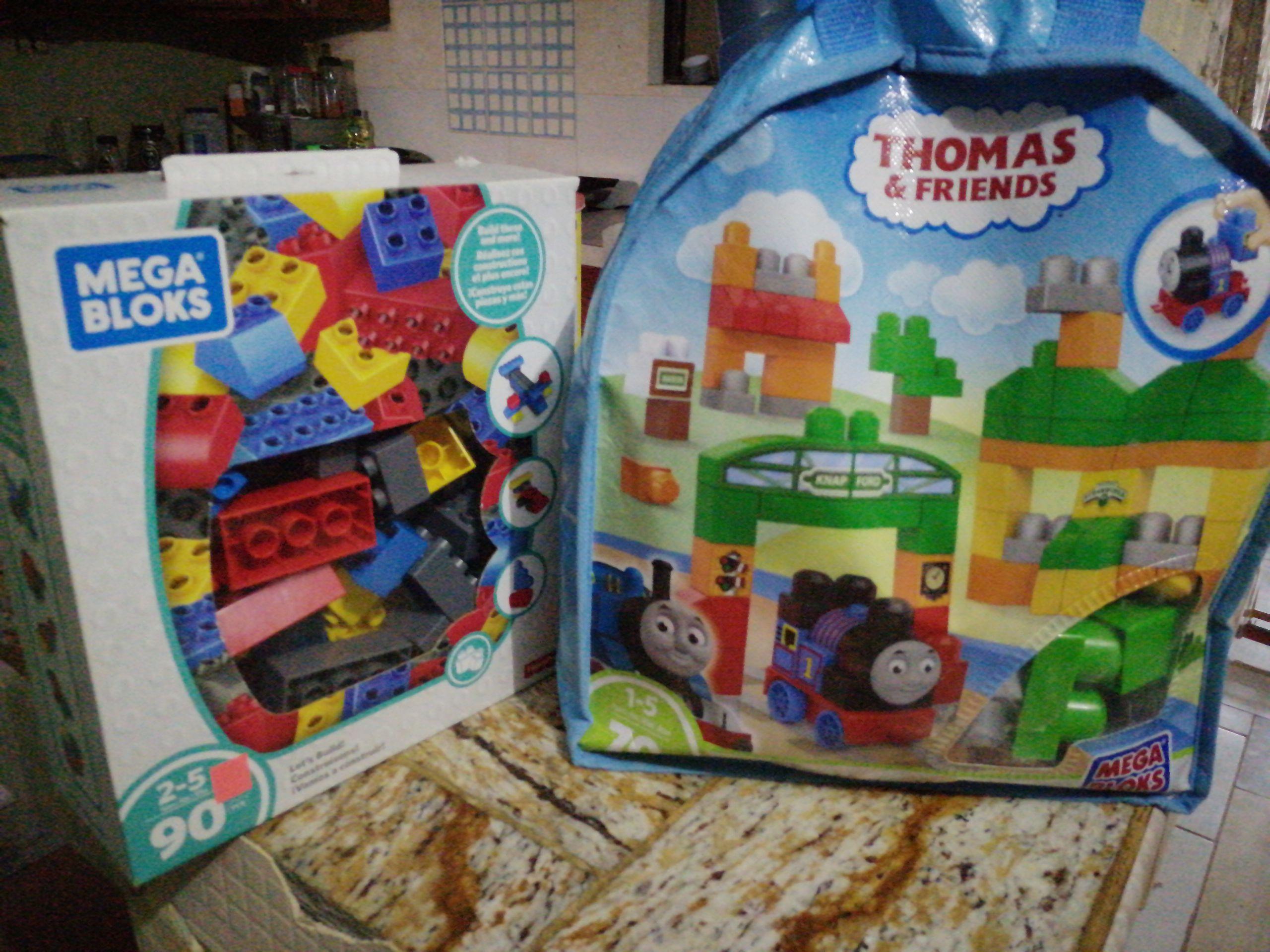 Soriana: Block s y mega bloks