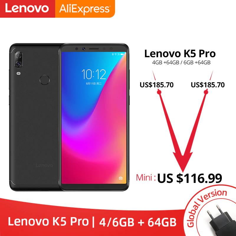 Aliexpress: Global Version Lenovo K5 Pro