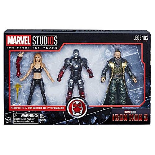 Amazon: Pack Marvel Legends Iron Man 3 de 1349 a 399