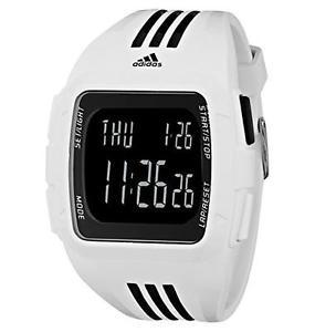 Amazon.com.mx: adidas Unisex ADP6091 Duramo XL Reloj Digital con Estuche y Correa en Blanco