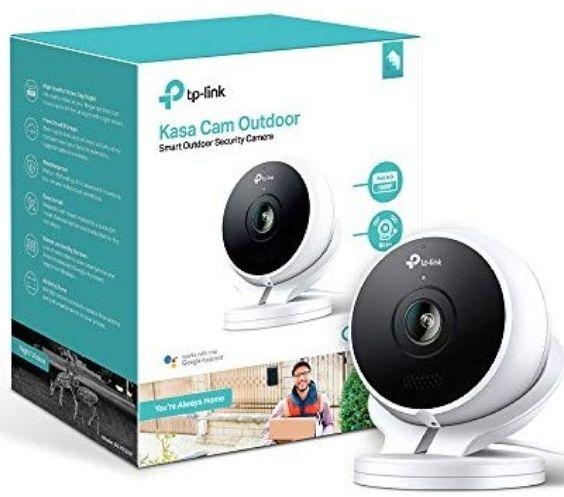 Amazon: Camara Kasa Cam TP-LINK Outdoor 1080p. El precio sale antes de confirmar la compra. Incluye PRIME