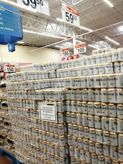 Walmart Tuxpan: Cerveza Modelo Especial Six/lata