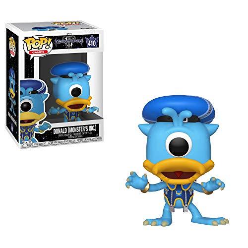 Amazon Funko Pop Disney: Kingdom Hearts 3 - Donald (Monsters Inc.) Mejor Precio Historico