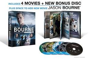 amazon MEX The Bourne Classified Collection 4 BR+ Bous Disc + Digital