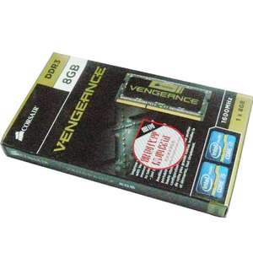 Amazon: Memoria Ram de 8 GB, Corsair Vengeance DDR3 1600 MHz (PC3 12800) para Laptop (CMSX8GX3M1A1600C10)