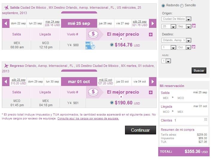 Volaris: vuelos desde o hacia USA desde $299 dólares redondo