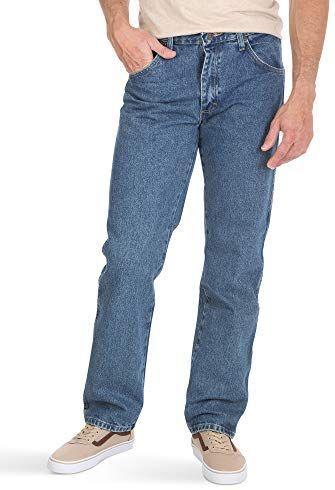 Amazon: Wrangler Authentics - Pantalón Vaquero clásico de 5 Bolsillos para Hombre