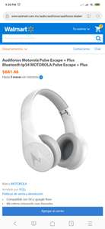 Walmart: Motorola pulse escape plus