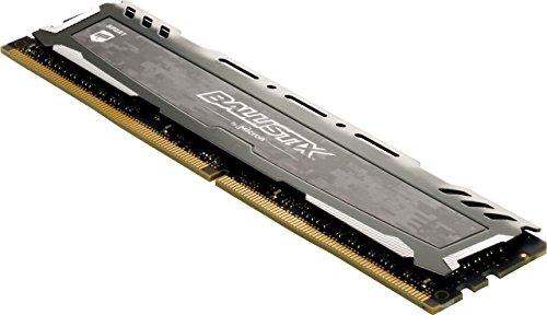 Amazon: Ballistix Sport LT 8GB Single DDR4 3200 MT/s (PC4-25600) CL16 SR x8 DIMM 288-Pin Memory - BLS8G4D32AESBK (Gray)