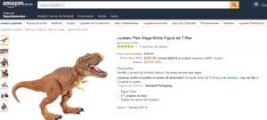 "AMAZON.MX:  Oferta de T-REX de 21"" de Jurassic World, precio original $908"