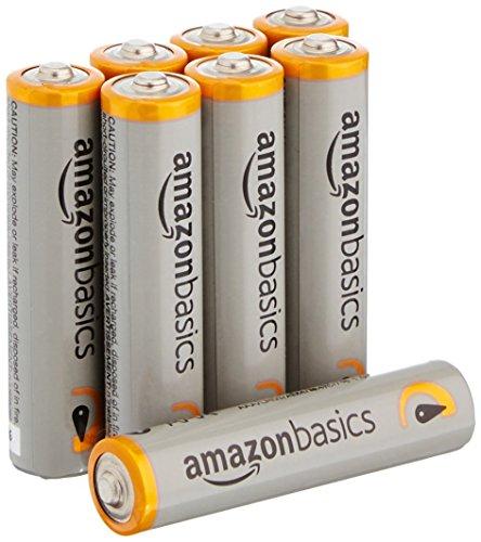Amazon: Baterias Amazon Basics AAA 8 pz